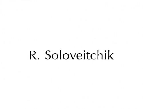 R.-Soloveitchik